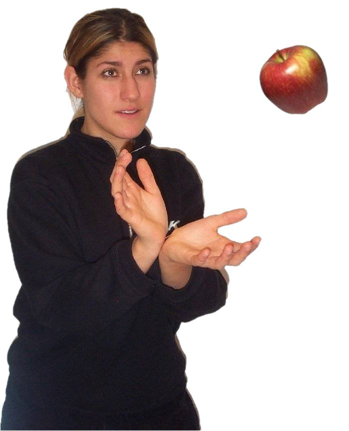 Girl catching apple.jpg